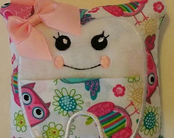 TOOTH FAIRY PILLOW/Owl