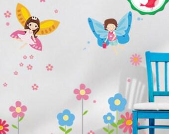 Fairy Wall Decal, Fairy Wall Sticker, Fairy Wall Stickers, Fairy Wall Decor, Fairy Decals, Fairy Wall Decals, Fairy Decal, Fairy Stickers
