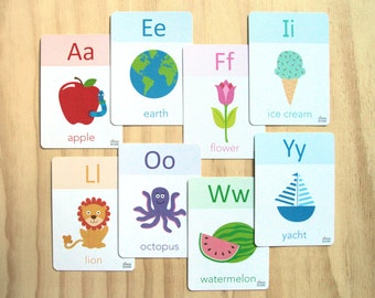 Printable Mimosa ABC Cards