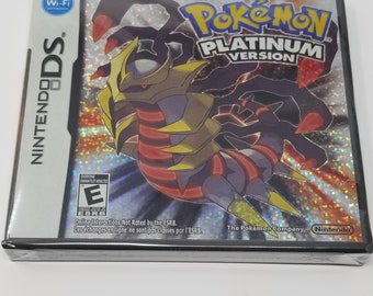 Pokemon Platinum US Version Reproduction Free Shipping