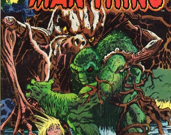 The Man-Thing #9 FN++ 1974 Marvel comic