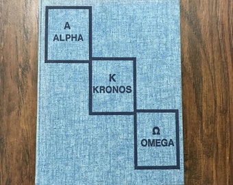 Vintage 1970s 70s 1977 Alpha Kronos Omega Marin Catholic High School Wildcats Yearbook