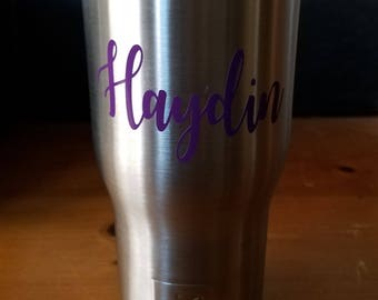 Personalized Rtic 20 oz Tumbler