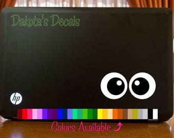 Eyes Laptop Decal