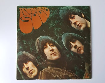 The Beatles Rubber Soul Vinyl LP Original Early Press Record