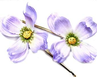 Hair blossoms, hair flowers, bobby pins
