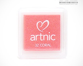 BEST SELLER Tsukineko VersaColor Artnic (AS-032 Coral)  Peach Japanese Pigment Ink for Paper