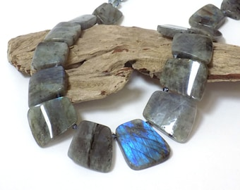 Necklaces for Women Statement Necklace Gift for Her Gemstone Necklace Gift for Women Labradorite Necklace Beaded Necklace Handmade Jewelry
