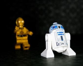 R2D2 Come Back... - R2D2 und C3PO - fotografieren - verschiedene Größen
