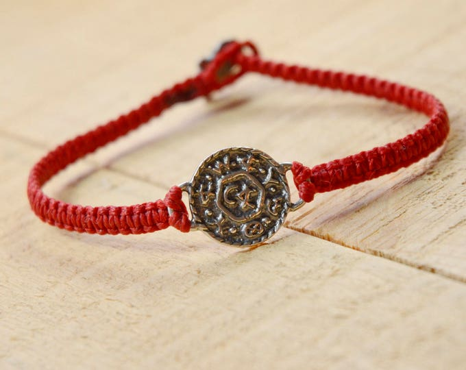 Livelihood and Business Amulet Hand Woven Bracelet