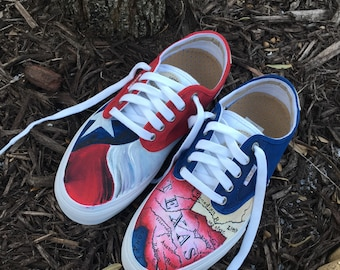 Texas Painted Shoes