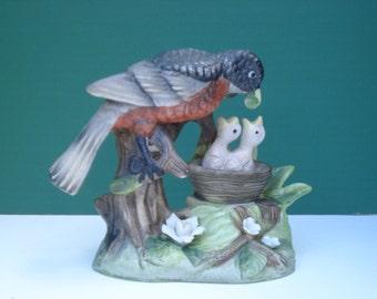 Vintage J. Byron Royal Crown Robin Figurine