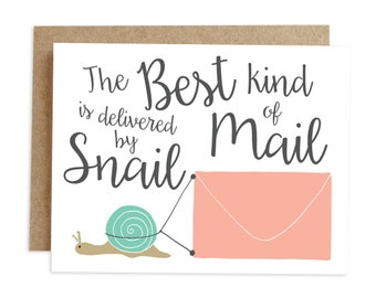 Just Because Card, Any Occasion Card, Thank You Card, Blank Card, Note Card, All Occasion Card, Snail Mail Card, Friendship Card