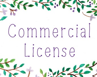 Commercial License - ADD ON