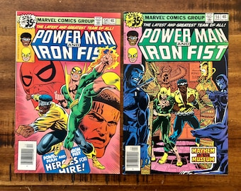 1978-79 Power Man and Iron Fist, Luke Cage #54 and #56 Comic Books / VF-FN / Marvel Comics / Choose One or Both for a Discounted Price!