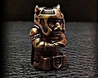 Thor Solid Bronze Bead Paracord Leather Knife Lanyard Bead metal pendant