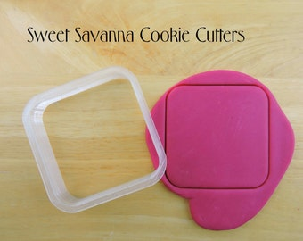 Rounded Square Cookie Cutters- Different Sizes Available