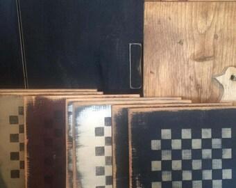 Primitive Checker Board