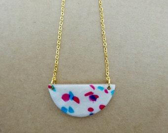 Half-moon necklace