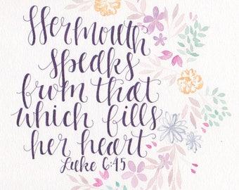 Luke 6:45