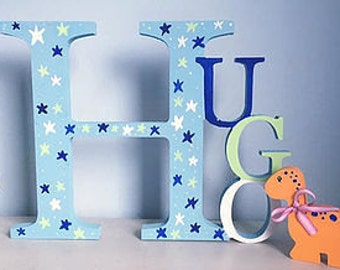 Freestanding Names Personalised New Baby, Christening gifts