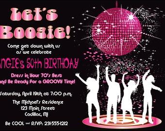 retro party invitations selo l ink co