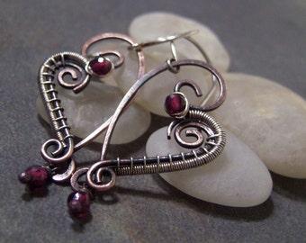 50% off Tutorial Sale-Tutorial for Rustic Heart Earrings.
