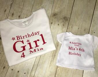 Birthday girl t shirts !