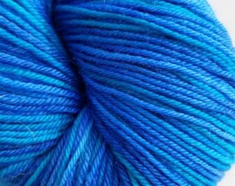 Hand dyed - Superwash merino wool