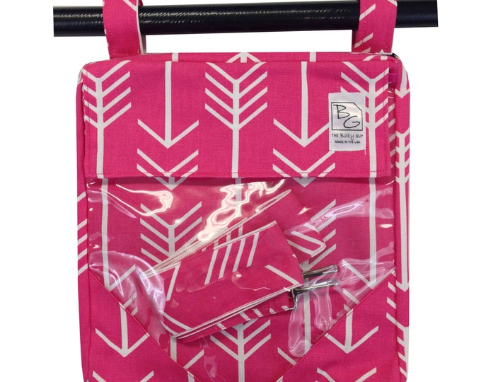 Featured listing image: Hot Pink Arrows 3 Hour Bag