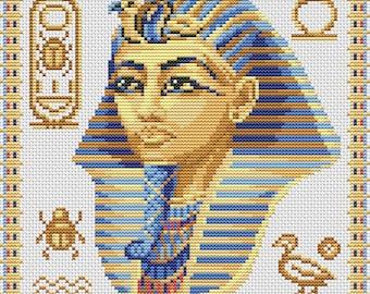 Cross Stitch Pattern Nefertiti counted embroidery