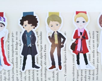 Sherlock — magnetic bookmarks
