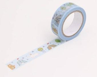 Washi tape 10 m circus - Washi tape circus pattern