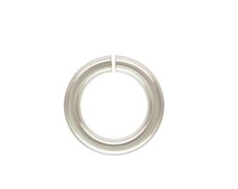 925 Sterling Silver 16ga (8mm, 9mm) Open Jump Rings