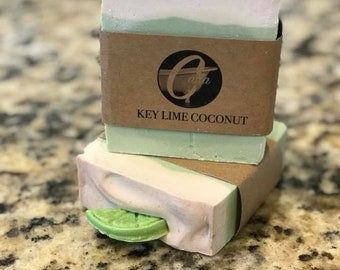 Key Lime Coconut Bar Soap