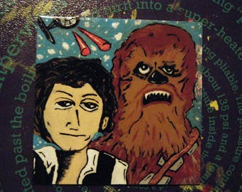 Han Solo & chewy