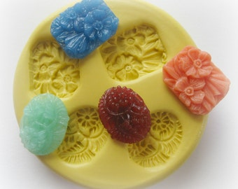 Daisy Rose Mold Flower Silicone Flexible Clay Resin Mould