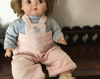 Effanbee Composition Baby Doll