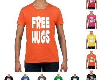 Free Hugs Women's Funny T-shirt