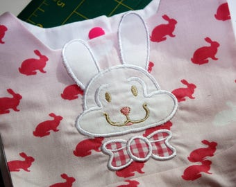 girls Easter Pinafore