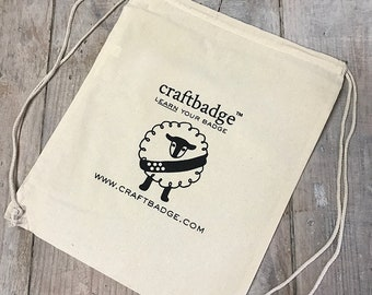 Craftbadge Drawstring Bag