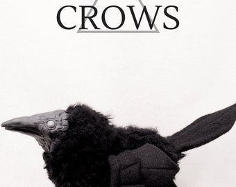 Crow // Made to Order // OOAK art doll