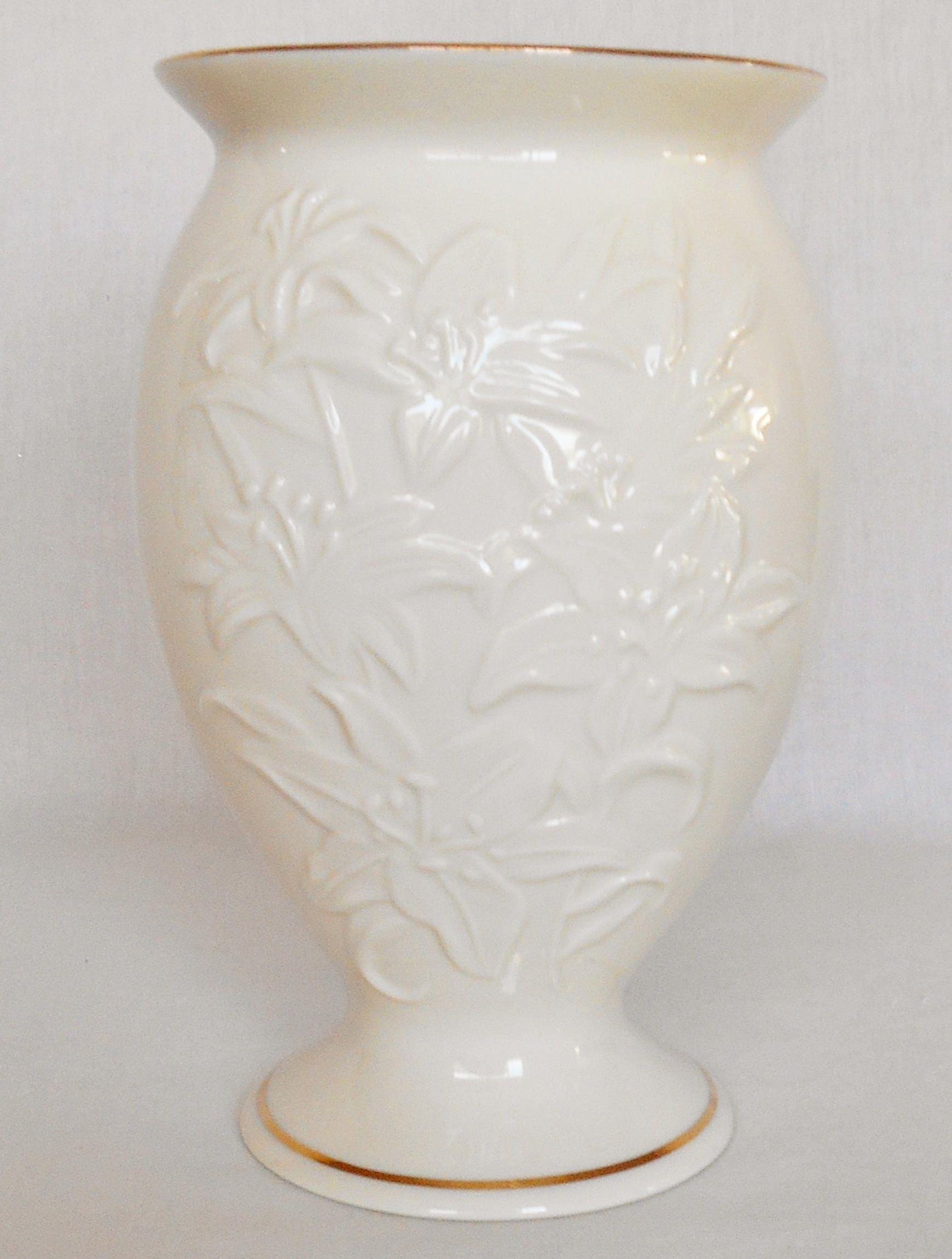 Vintage lenox ivory 8 inch tiger lily vase vintage tiger lily zoom reviewsmspy