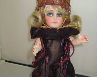 ooak porcelian art doll