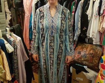 Hippie Boho Kaftan Dress