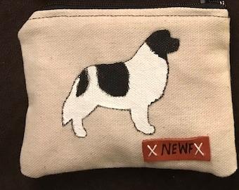 Newfoundland Dog Coin purse
