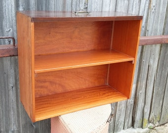 Upcycled Vintage Mahogany Shelf Made Out of a Drawer !