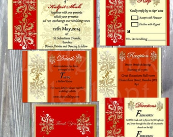 Bollywood invitation etsy indian wedding invitation hindu wedding invitation bollywood invitation bollywood party invite bollywood stopboris Images