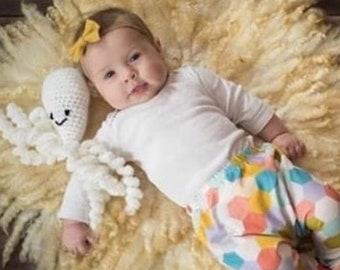 White Crochet Octopus