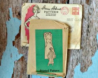 Vintage Pattern - Anne Adams 4920 - AA4920 - Dress Pattern - Shift Dress - Mail Order Pattern - 1968 Day Dress Pattern